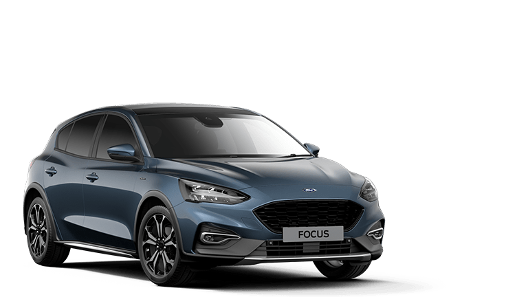 NEW FOCUS MHEV Active X Edition mHEV 5 Door in Chrome Blue