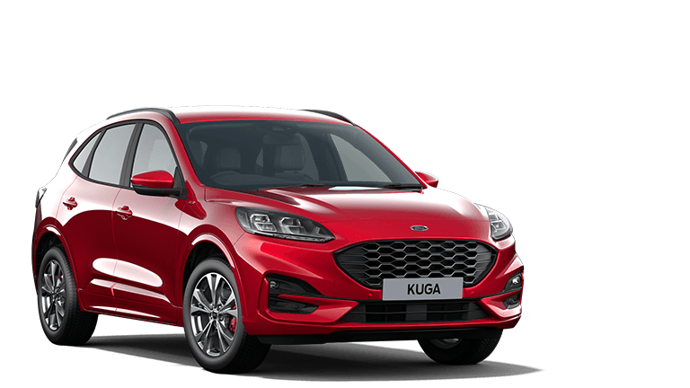 NEW KUGA ST-Line First Edition mHEV 5 Door in Lucid Red
