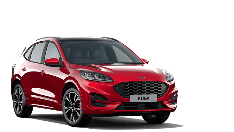 NEW KUGA ST-Line X First Edition PHEV 5 Door in Lucid Red