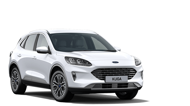 NEW KUGA Titanium First Edition 5 Door in Frozen White