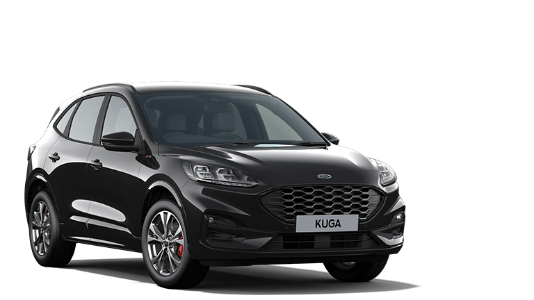 NEW KUGA ST-Line PHEV 5 Door in Agate Black