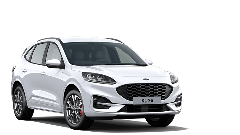 NEW KUGA ST-Line Edition mHEV 5 Door in Frozen White