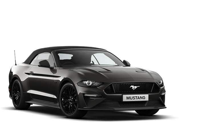 NEW MUSTANG 5.0 V8 GT Convertible in Magnetic