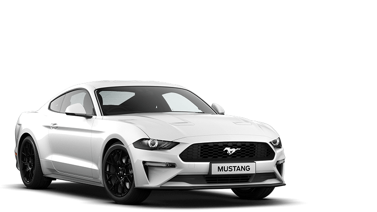NEW MUSTANG 2.3 EcoBoost Fastback in Oxford White