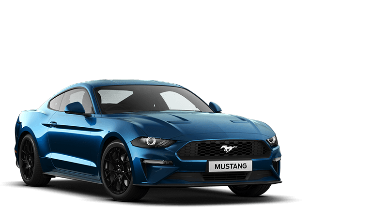 MUSTANG 2.3 EcoBoost Fastback in Velocity Blue