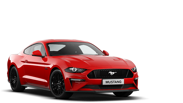 NEW MUSTANG 5.0 V8 GT Fastback in Race Red