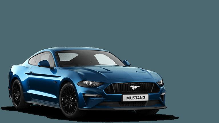 NEW MUSTANG 5.0 V8 GT Fastback in Velocity Blue