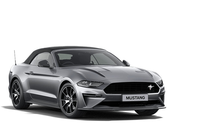 MUSTANG 2.3 EcoBoost Convertible in Iconic Silver