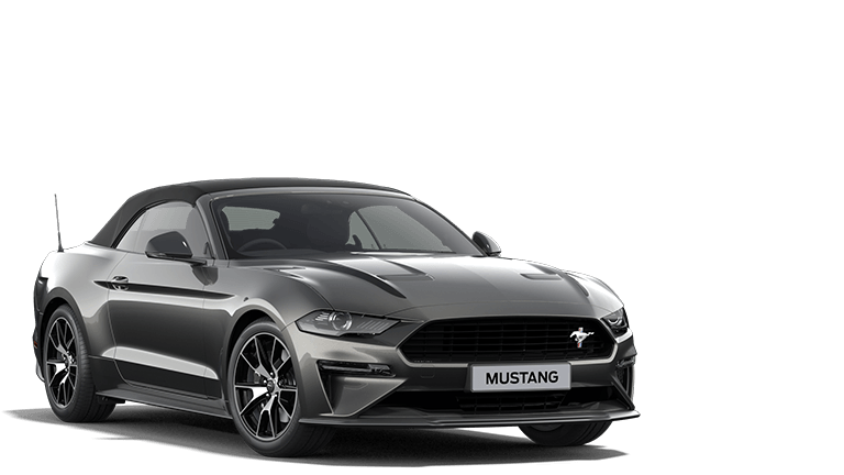 MUSTANG 2.3 EcoBoost Convertible in Magnetic