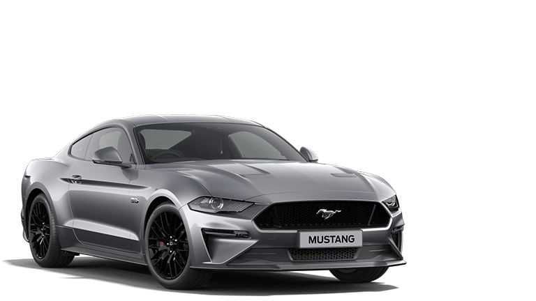 NEW MUSTANG 5.0 V8 GT Fastback in Iconic Silver