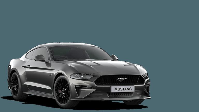 MUSTANG 5.0 V8 GT Fastback in Magnetic