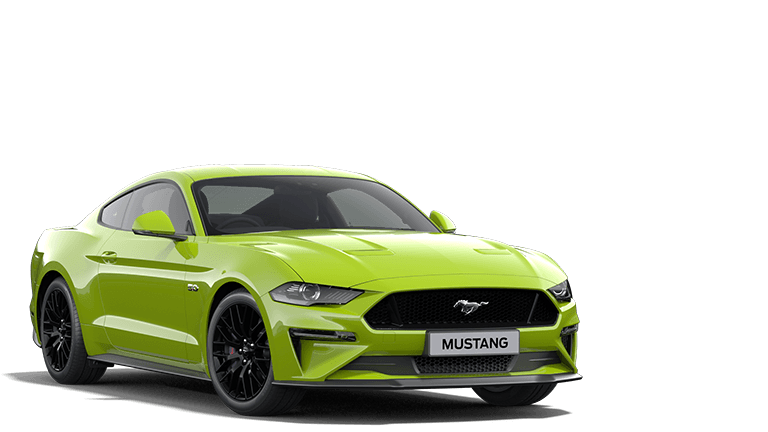 NEW MUSTANG 55 Edition Fastback in Grabber Lime