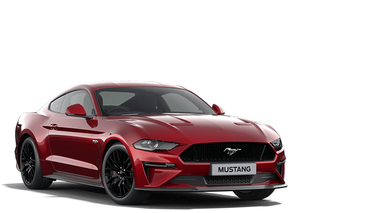 MUSTANG 55 Edition Fastback in Lucid Red