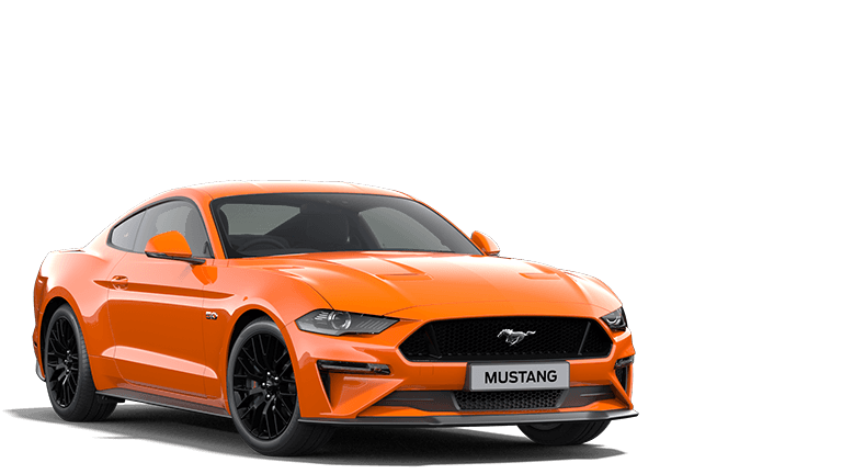 NEW MUSTANG 55 Edition Fastback in Twister Orange