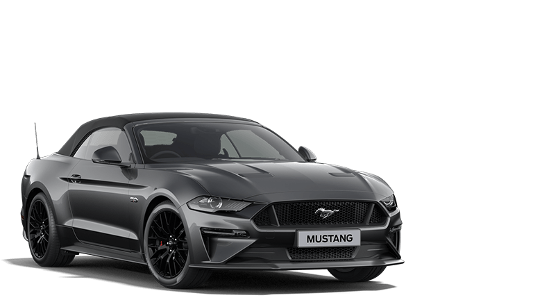 MUSTANG 5.0 V8 GT Convertible in Carbonized Gray