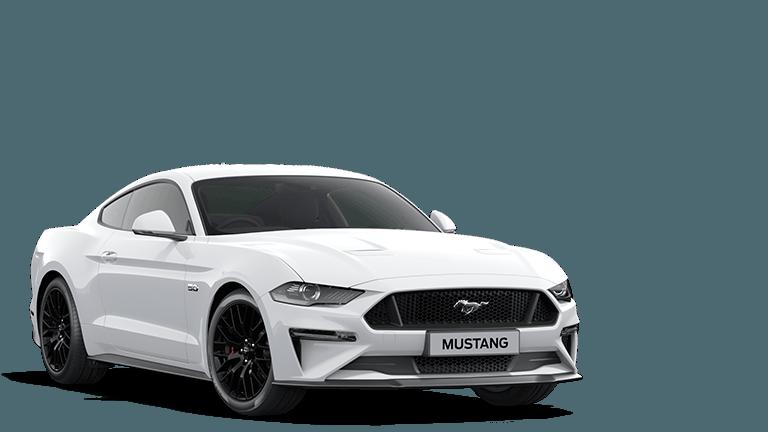 MUSTANG 5.0 V8 GT Fastback in Oxford White