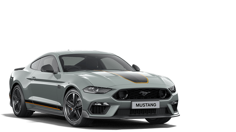 MUSTANG MACH 1 Mach 1 Fighter Jet Gray Fastback in Fighter Jet Gray