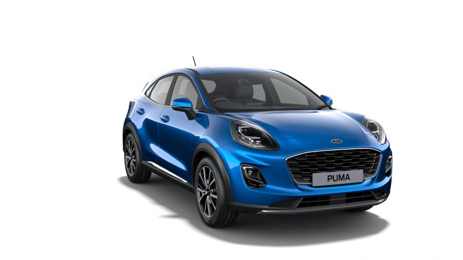New Ford Puma Titanium Gates