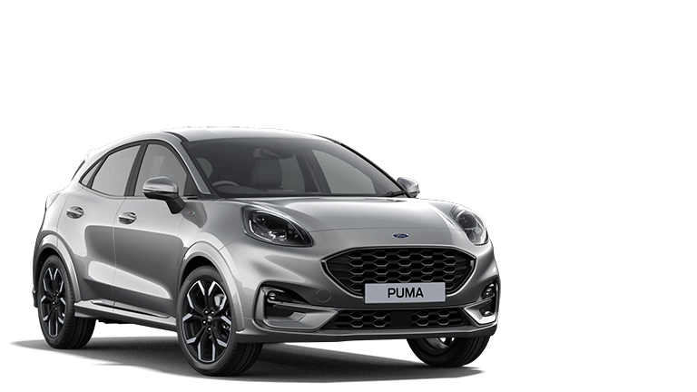 NEW PUMA ST-Line X mHEV 5 Door in Solar Silver