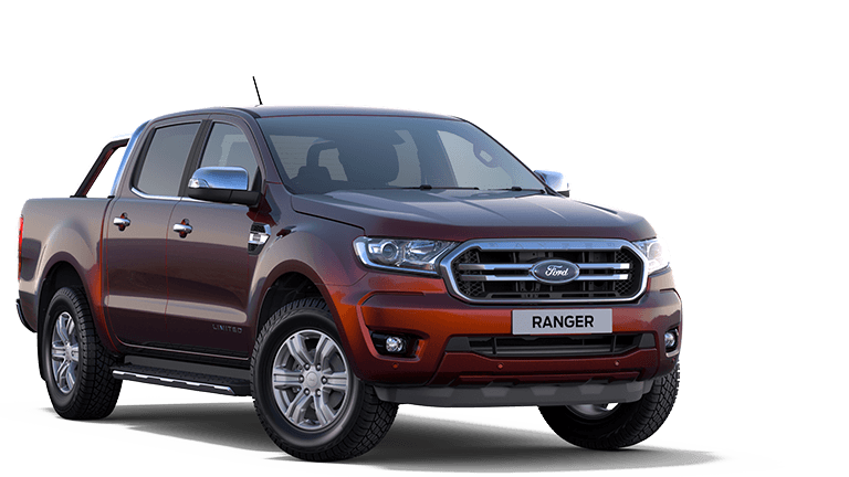 NEW RANGER Limited Double Cab in Copper Red