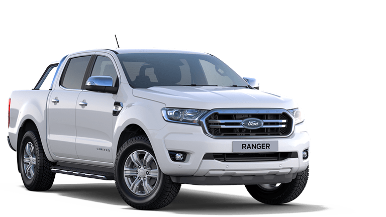 RANGER Limited Double Cab in Frozen White