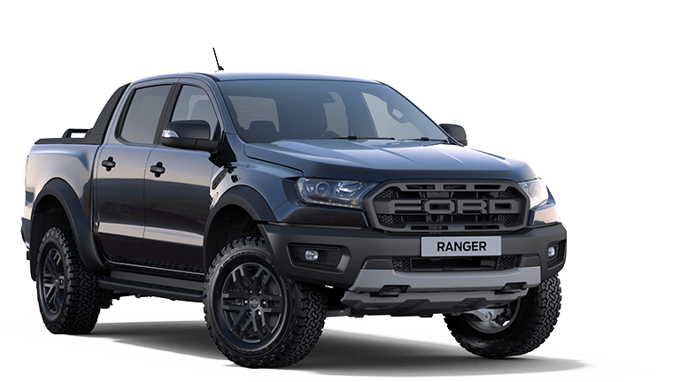 RANGER RAPTOR Raptor Double Cab in Shadow Black