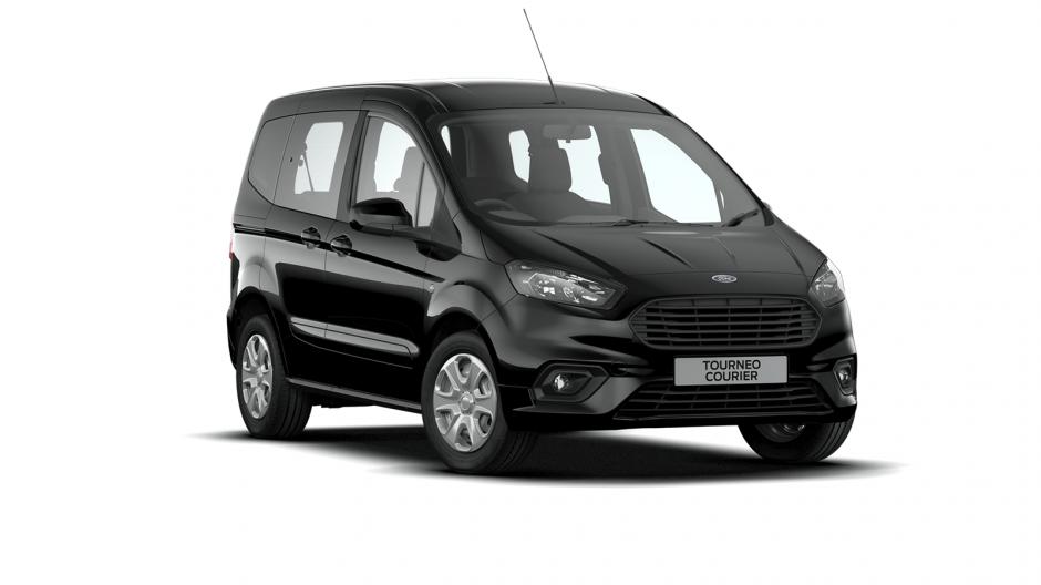Ford Tourneo Courier Zetec Right Car