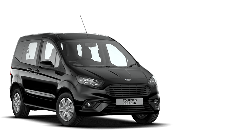 TOURNEO COURIER Zetec 5 Door in Shadow Black