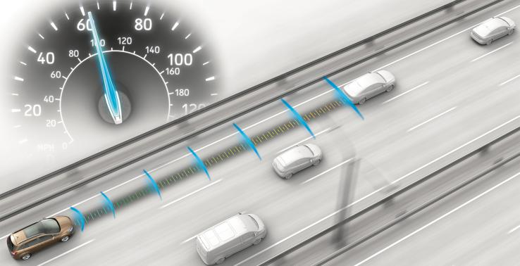Cruise control that can adapt automatically
